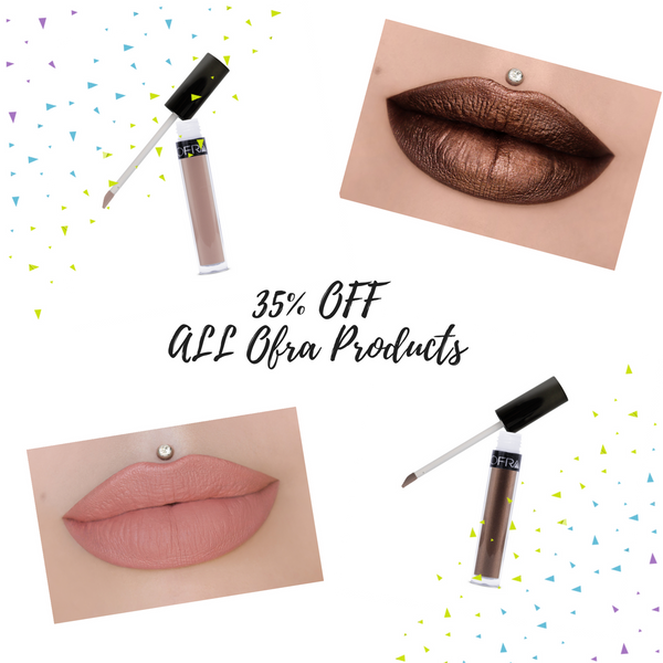 Black Friday Deals - 35% OFF ALL Ofra Cosmetics Products - Count On Us Canada