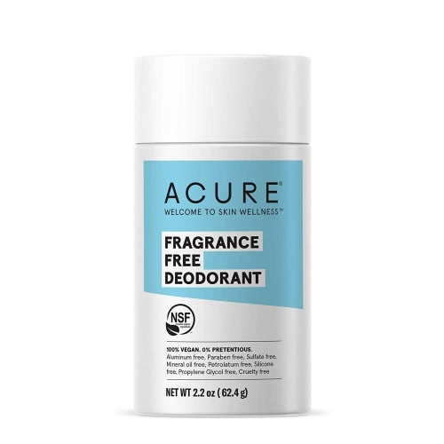Acure Deodorant, Fragrance Free