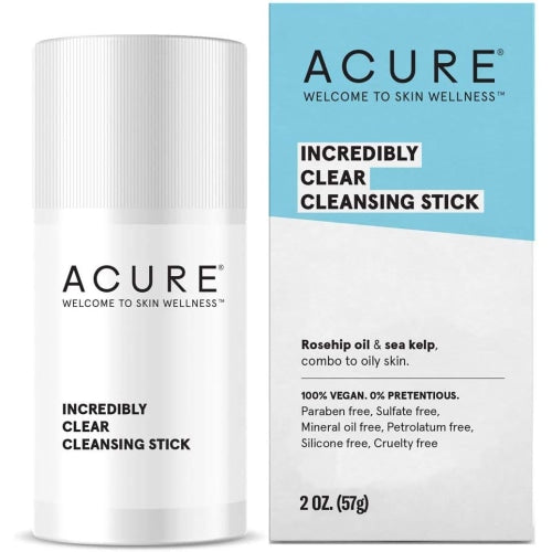 ACURE Incredibly Clear Facial Cleansing Stick