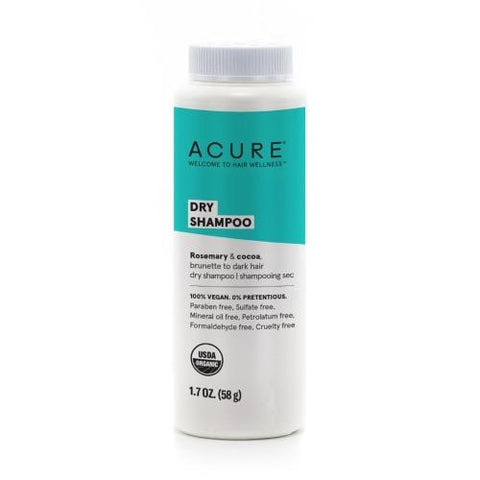 Acure Organics  DRY SHAMPOO - BRUNETTE TO DARK HAIR