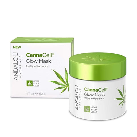 Andalou Naturals Cannacell Glow Mask, 1.7 Ounce