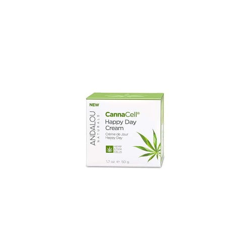 Andalou Naturals Cannacell Happy Day Cream 1.7 Ounce - Beauty