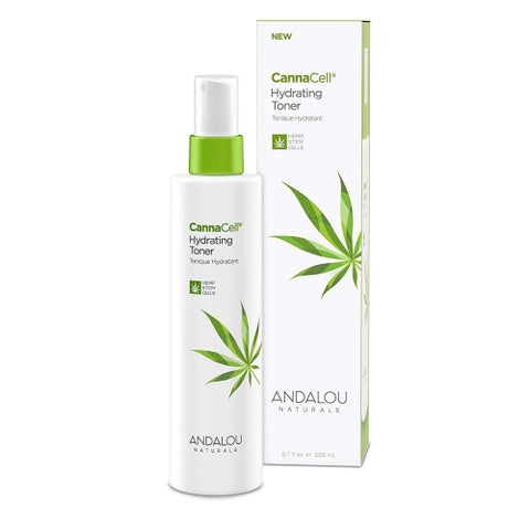 Andalou Naturals Cannacell Hydrating Toner, 6.7 Ounce