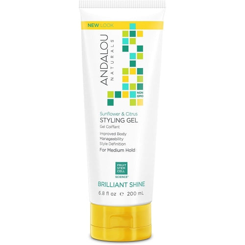 ANDALOU naturals Sunflower & Citrus Medium Hold Styling Gel - Count On Us