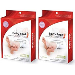 Baby Foot Deep Skin Exfoliation for Soft & Smooth Feet (Lavender Scented) - Pack 2 - Count On Us