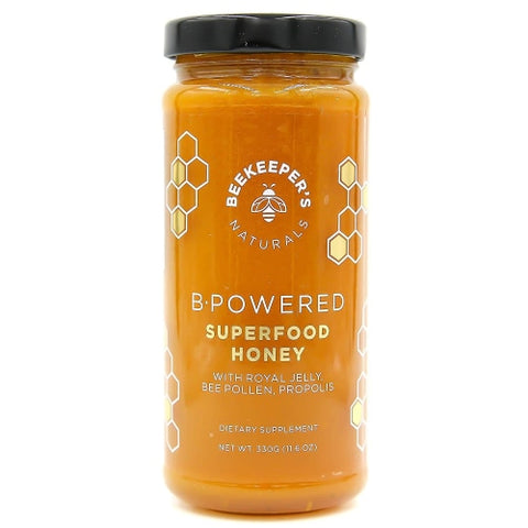 Beekeeper's Naturals B Powered Superfood Honey