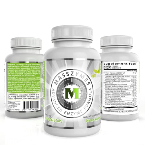 biOptimizers MassZymes Advanced Digestive Enzyme Formula - BiOptimizers