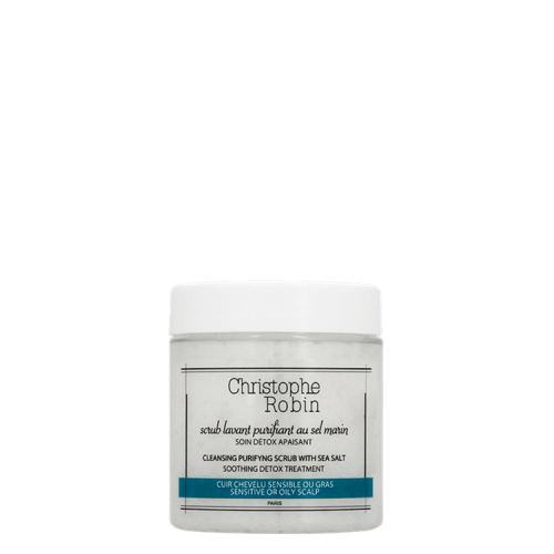 Christophe Robin Cleansing Purifying Scrub with Sea Salt (Travel Size)