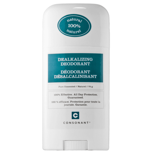 Consonant Skincare Dealkalizing Deodorant (Unscented) - Count On Us