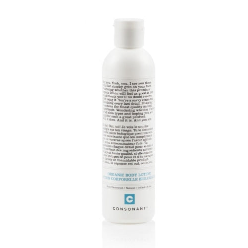 Consonant Skincare Organic Body Lotion - Count On Us