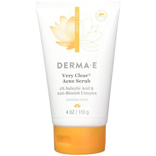 Derma E Very Clear Acne Scrub 4 oz - Skincare