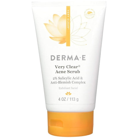 Derma E Very Clear Acne Scrub 4 oz