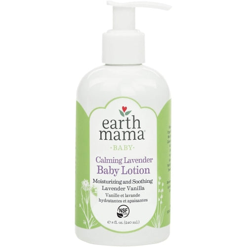 Earth Mama Calming Lavender Baby Lotion 240 Millliliters - Earth Mama