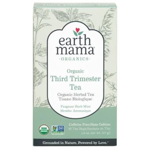 Earth Mama Organics Organic Third Trimester Tea - Count On Us