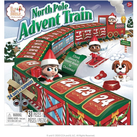 Elf on The Shelf North Pole Advent Train