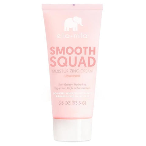 ella+mila Smooth Squad Moisturizing Cream (Unscented)