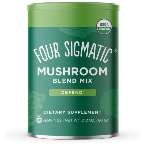 Four Sigmatic Mushroom Blend With 10 Mushrooms