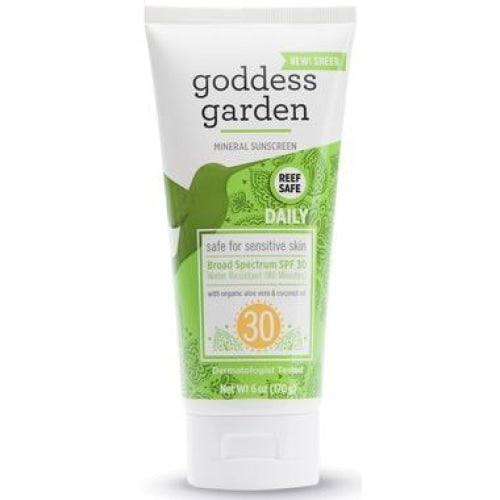 Goddess Garden Daily SPF 30 Mineral Sunscreen - 6 oz