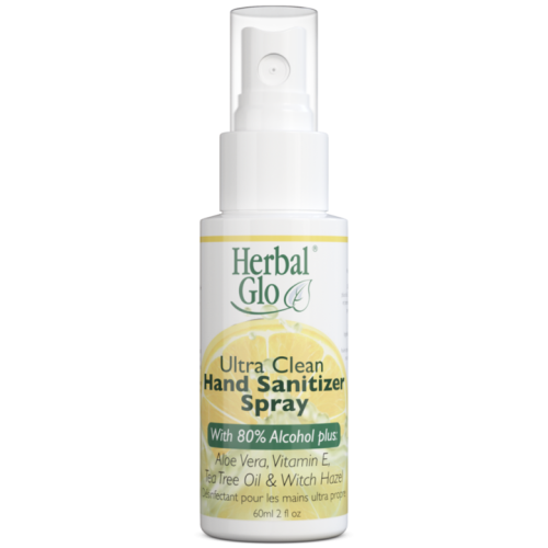 Herbal Glo's Ultra Clean Sanitizer Spray - Count On Us
