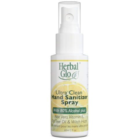 Herbal Glo's Ultra Clean Sanitizer Spray