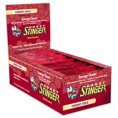 Honey Stinger Chew Organic Cherry Cola - Pack 12 - Honey Stinger