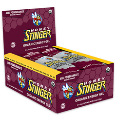 HONEY STINGER Food Org Acai-Pom Gel - Pack 24 - Honey Stinger