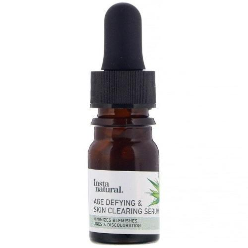 InstaNatural Age Defying & Skin Clearing Serum Mini (5mL) - Count On Us
