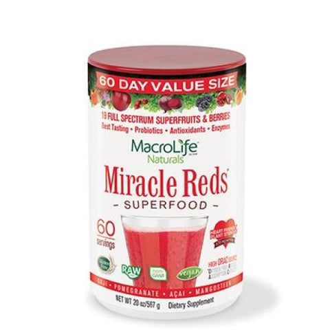 Macrolife Natural Miracle Reds (20oz)
