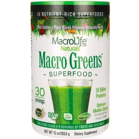 MacroLife Naturals Macro Greens Superfood 10oz