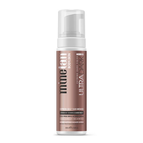 MineTan Ultra Dark Self Tan Mousse