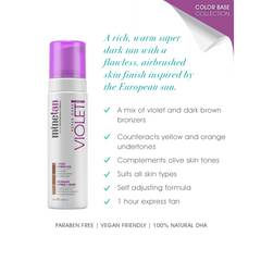 MineTan Violet Self Tan Foam - Count On Us