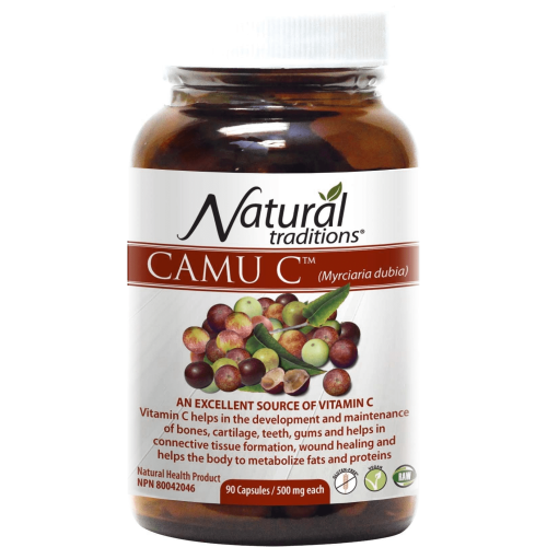 Natural Traditions Camu C 90 Capsules - Count On Us