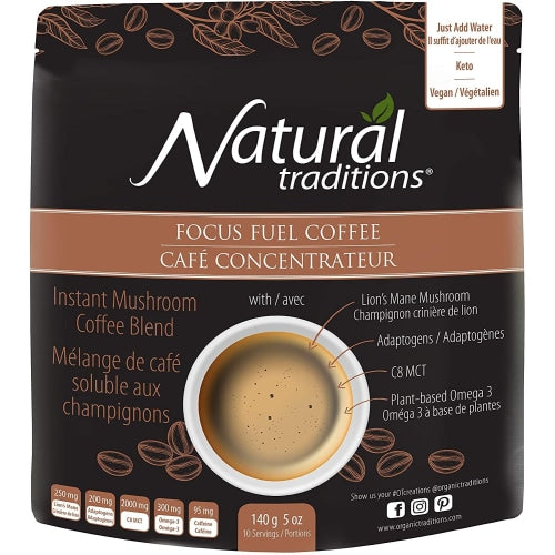 Natural Traditions Focus Fuel Coffee