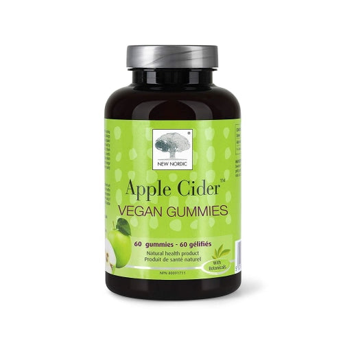 New Nordic Apple Cider Gummies 60 Count - New Nordic