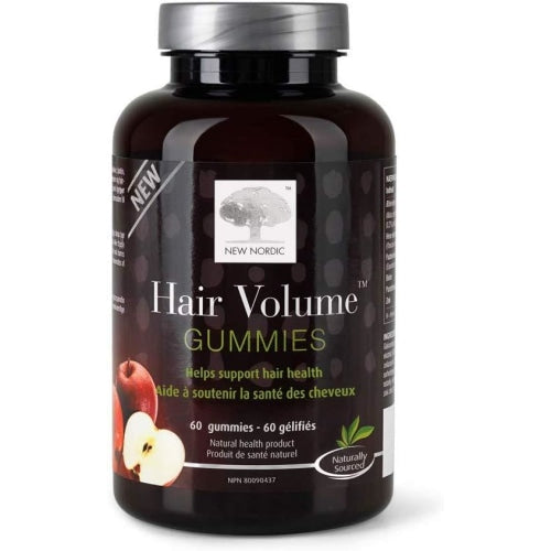 New Nordic Hair Volume Gummies 60 Count - New Nordic