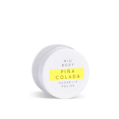 NIU BODY Piña Colada Sugar Lip Polish - Count On Us