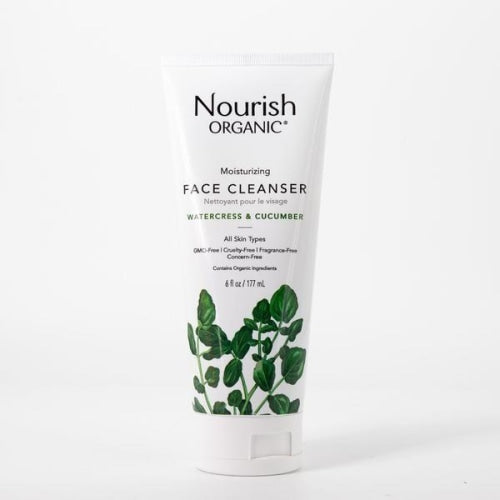 Nourish Organic Moisturizing Face Cleanser - Nourish Organic