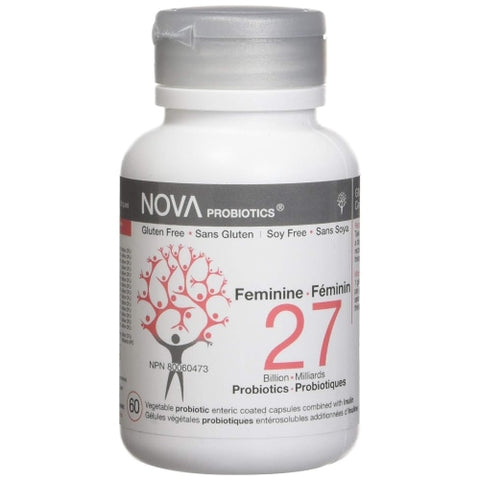 NOVA Probiotics  Feminine - 27 Billion