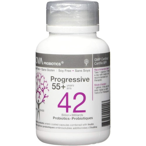 NOVA Probiotics Progressive 55+ - 42 Billion - NOVA Probiotics