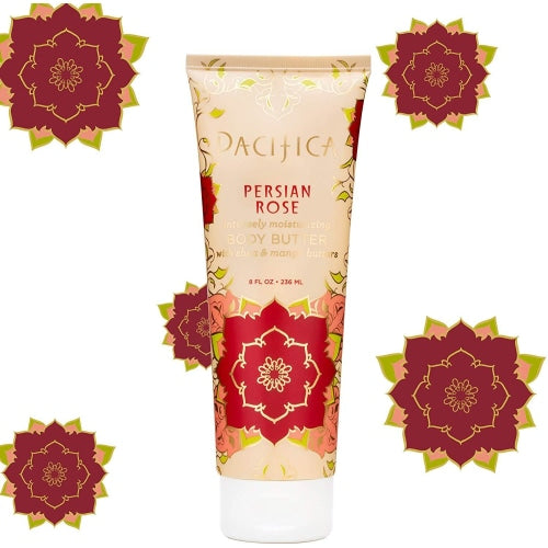 Pacifica Body Butter Tube Persian Rose - Pacifica