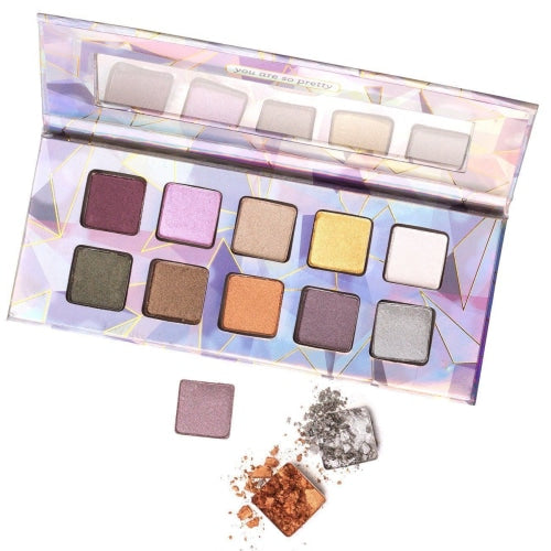Pacifica Crystal Matrix Mineral Infused Eyeshadow Palette - Count On Us