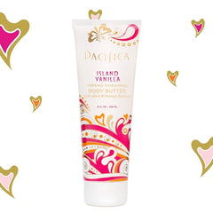 Pacifica Island Vanilla Body Butter Tube - Pacifica