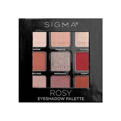 Sigma Beauty Rosy Eyeshadow Palette
