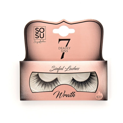 SOSU by SJ 7 Deadly Sins Wrath Lashes - Count On Us