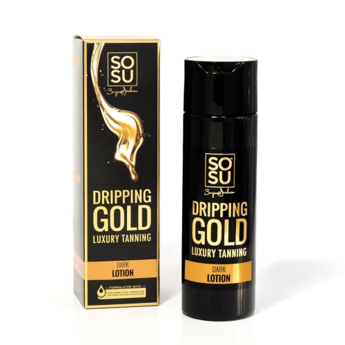 SOSU by SJ Dripping Gold Luxury Tanning Lotion (Dark) - Count On Us