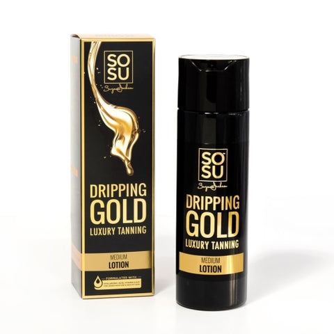 SOSU by SJ Dripping Gold Luxury Tanning Lotion (Medium)