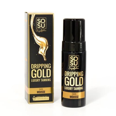 SOSU by SJ Dripping Gold Luxury Tanning Mousse (Dark)