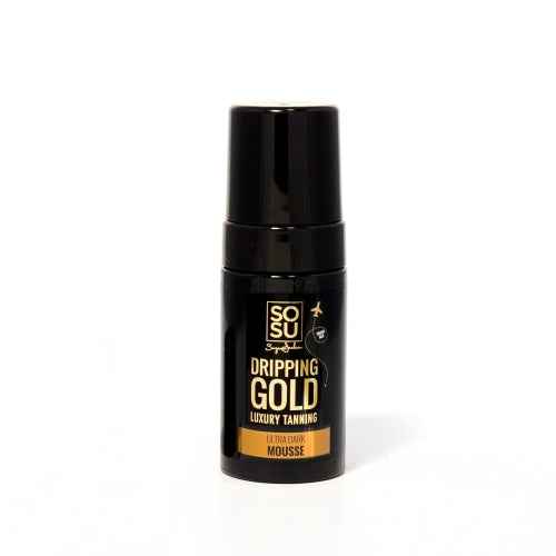 SOSU by SJ Dripping Gold Luxury Tanning Mousse (Ultra Dark) - Travel Size - Count On Us