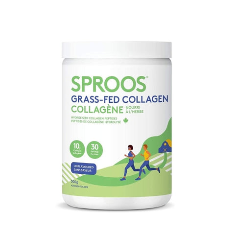 Sproos Premium Grass-Fed Collagen Peptide Powder