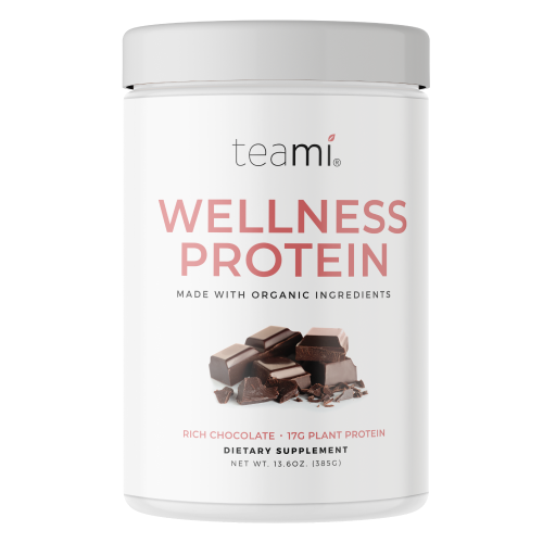 Teami Blends Organic Plant-Based Wellness Protein (Rich Chocolate)